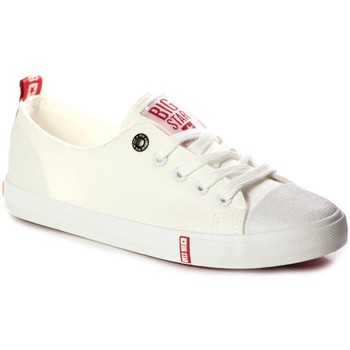 Chaussures Femme Baskets basses Big Star FF274087 Creme