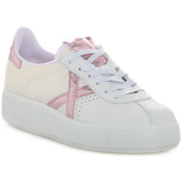 Chaussures Femme Baskets basses Munich Fashion 037 BARRU SKY Bianco