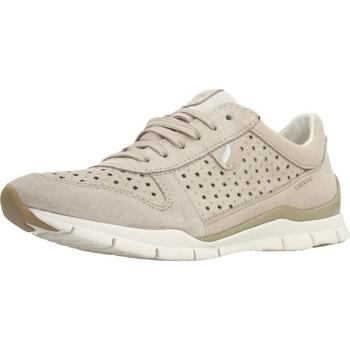 Chaussures Femme Baskets basses Geox D SUKIE Brun