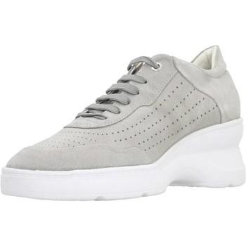Chaussures Femme Baskets mode Geox D ASCYTHIA A Gris