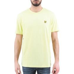 Vêtements Homme T-shirts manches courtes Lyle & Scott Lyle  Scott  T-Shirt uni jaune  LYSTS400V Z913 Jaune