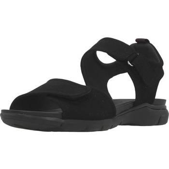Chaussures Femme Sandales et Nu-pieds Geox D SANDAL SUKIE A Noir