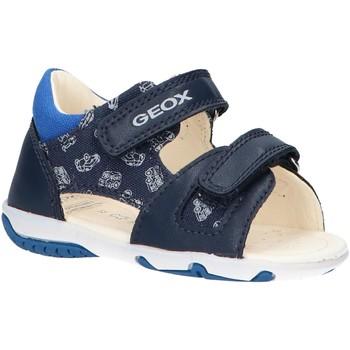 Chaussures Garçon Sandales sport Geox B02L8A 01054 B ELBA Azul