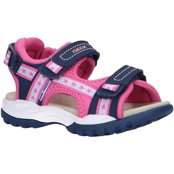 Chaussures Fille Sandales sport Geox J020WA 05015 J BOREALIS Azul