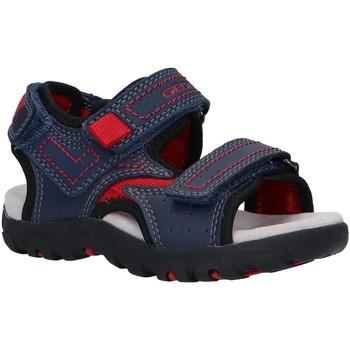 Chaussures Enfant Sandales sport Geox J0224A 0MECE J S STRADA Azul