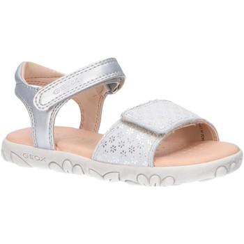 Chaussures Fille Sandales sport Geox J028ZA 007NF J S HAITI Plateado