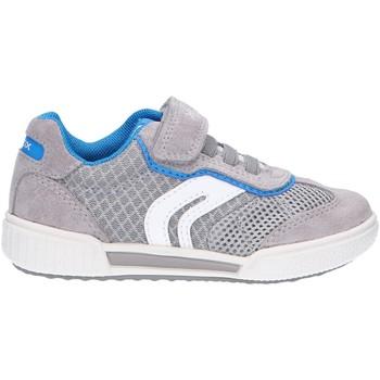 Chaussures Enfant Baskets basses Geox J02BCD 01422 J POSEIDO Gris