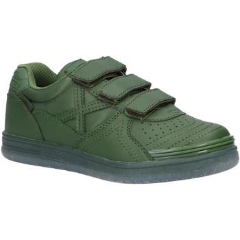 Chaussures Garçon Baskets basses Munich 1515958 G-3 MONOCHROME Verde