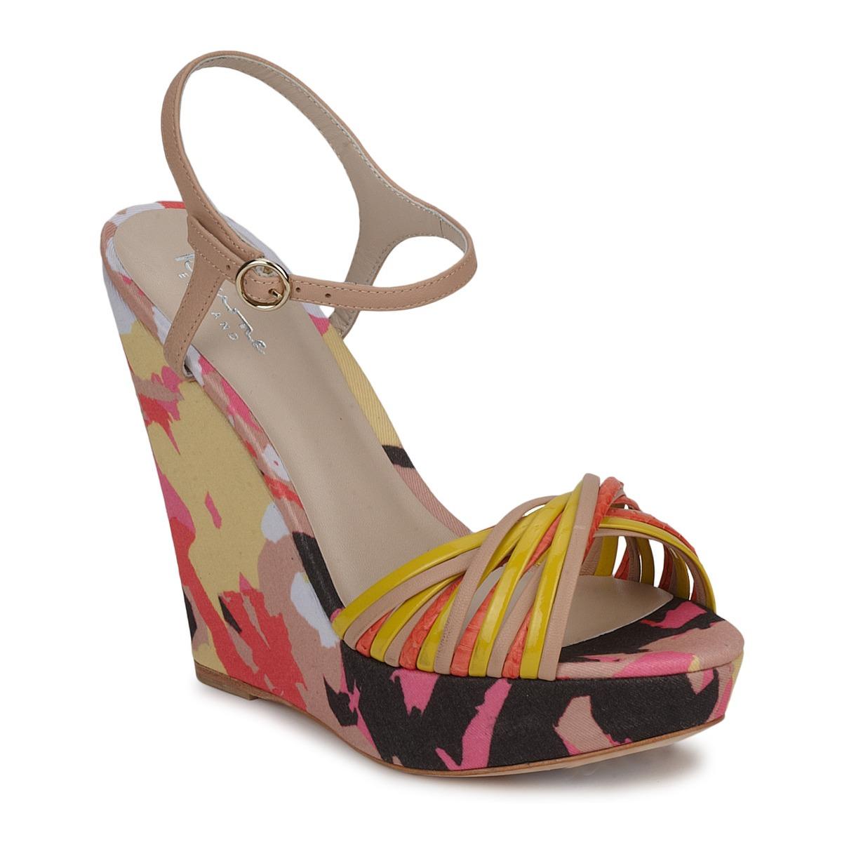 Sandale Bourne KARMEL Beige / Multicolore