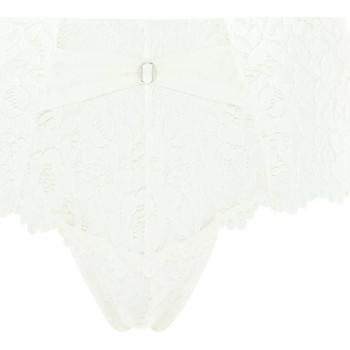 Sous-vêtements Femme Shorties & boxers Pommpoire Shorty  ivoire Paradoxe Blanc