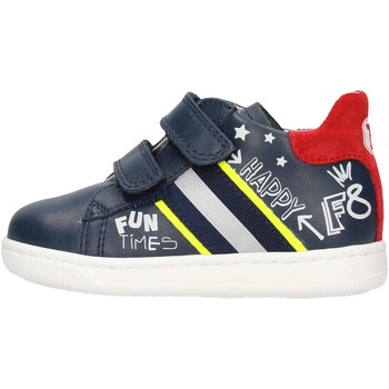 Chaussures Garçon Baskets mode Falcotto - Polacchino blu/rosso ATLEY-1C23 BLU
