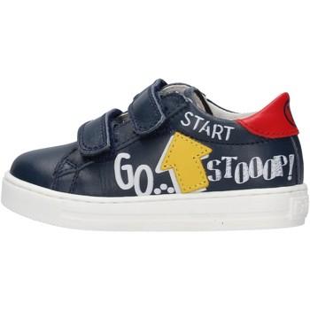 Chaussures Garçon Baskets mode Falcotto - Sneaker blu MERVI VL-1C49 BLU