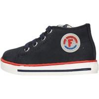 Chaussures Garçon Baskets mode Falcotto - Polacchino blu MAGIC-0C01 BLU
