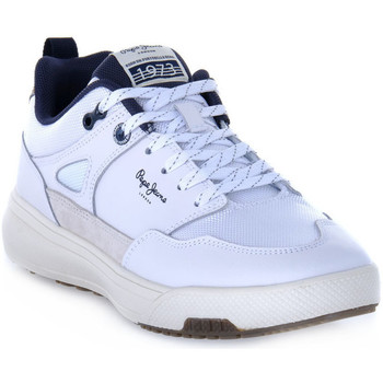 Chaussures Homme Baskets basses Pepe jeans SLATE PRO SUMMER Bianco