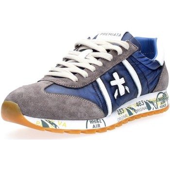 Chaussures Homme Baskets basses Premiata LUCY 4573 BLUE GRIGIO