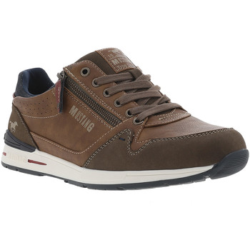 Chaussures Homme Baskets basses Mustang - chaussures MARRON