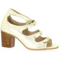 Chaussures Femme Sandales et Nu-pieds Impact Nu pieds cuir Or