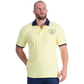 Vêtements Homme Polos manches courtes Ruckfield Polo piqué jaune Jaune