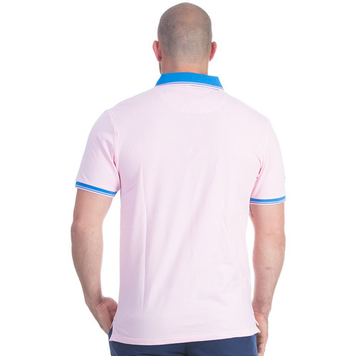 Ruckfield Polo Rose Rugby Flowers - Vêtements Polos Manches Courtes Homme 7900 SxLI4