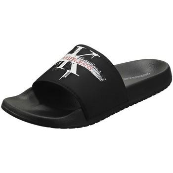 Chaussures Femme Sabots Calvin Klein Jeans CASSIOPA Noir