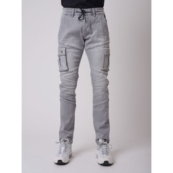 Vêtements Homme Pantalons cargo Project X Paris Jean Gris