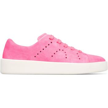 Chaussures Femme Baskets mode Camper Baskets cuir Courb rose
