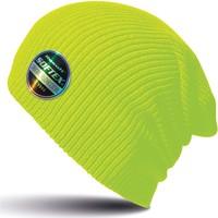Accessoires textile Bonnets Result Bonnet  Core Softex jaune fluo