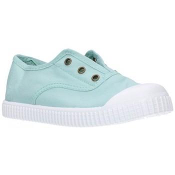 Chaussures Fille Baskets basses Potomac 292   C62     Aguamar Niña Verde vert