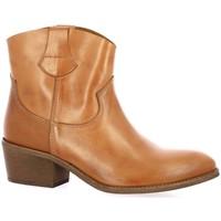 Chaussures Femme Boots Exit Boots cuir Cognac