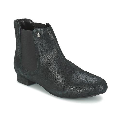 Chaussures Femme Boots Elle MABILLON Noir brillant