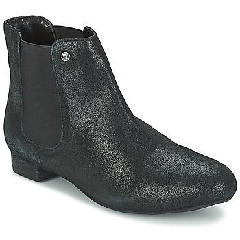 Bottines / Boots Elle MABILLON Noir brillant 350x350