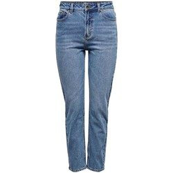 Vêtements Jeans slim Only ONLEMILY LIFE HW ST ANKLE MAE0012 NOOS bleu