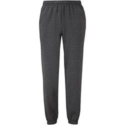 Vêtements Homme Pantalons de survêtement Fruit Of The Loom 64026 Gris foncé chiné