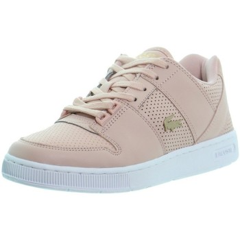 Chaussures Femme Baskets basses Lacoste Baskets  ref_48706 Rose Rose