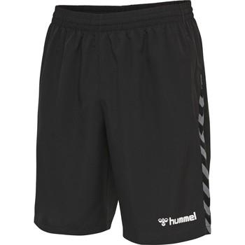 Vêtements Homme Shorts / Bermudas Hummel Short  Authentic Training noir/blanc