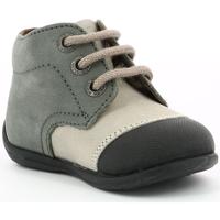 Chaussures Garçon Boots Aster Okidou GRIS CLAIR