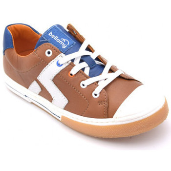 Chaussures Garçon Baskets basses Bellamy geo Marron