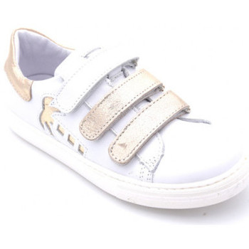 Chaussures Fille Baskets basses Bellamy melany blanc