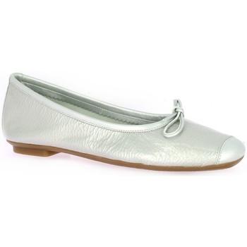 Chaussures Femme Ballerines / babies Reqin's Ballerines cuir vernis Gris
