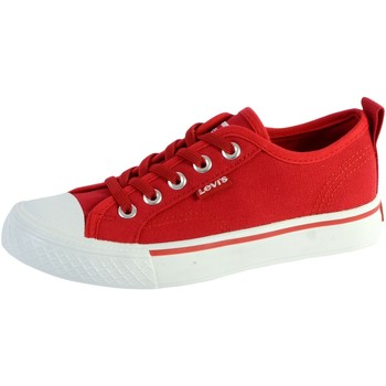 Chaussures Enfant Baskets basses Levi's Basket  Maui Elastic Lace Rouge