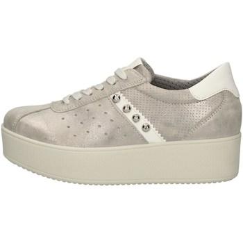 Chaussures Femme Baskets basses Imac 507120 ARGENT