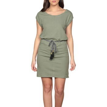 Vêtements Femme Robes courtes Deeluxe Robe TIME Khaki