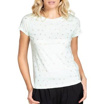 Vêtements Femme T-shirts manches courtes Deeluxe T-Shirt PALMA Light Mint