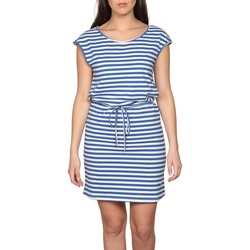 Vêtements Femme Robes courtes Deeluxe Robe STRIPSTIME Blue Stripes