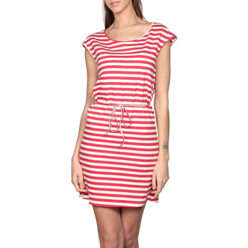 Vêtements Femme Robes courtes Deeluxe Robe STRIPSTIME Red Stripes