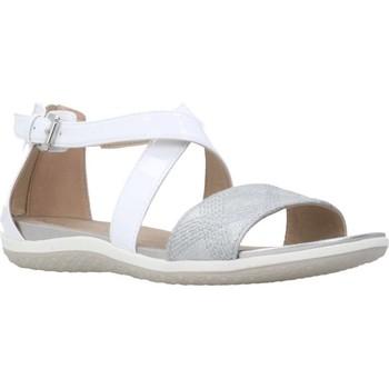 Chaussures Femme Sandales et Nu-pieds Geox D SAND.VEGA F Blanc
