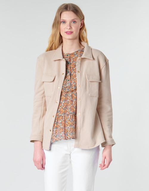 Vêtements Femme Vestes / Blazers Betty London MOUCHE Beige