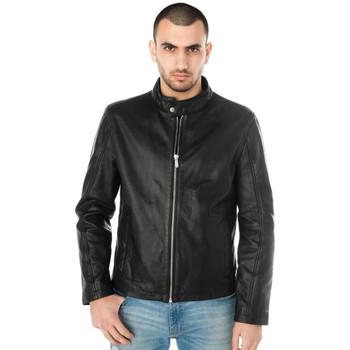 Vêtements Homme Vestes en cuir / synthétiques Deercraft HORISON RN BLACK Noir