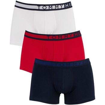 Sous-vêtements Homme Boxers Tommy Hilfiger Pack de 3 troncs multicolore