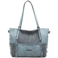 Sacs Femme Cabas / Sacs shopping Mac Alyster Sac trapèze  Inspiration panache bleu Multicolor